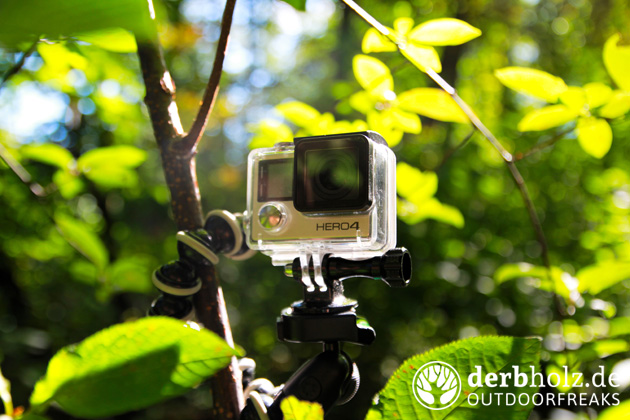 Derbholz Ratgeber Kamera Ausrüstung GoPro4