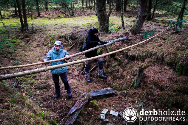 Derbholz Prepping Ratgeber Bug Out Location