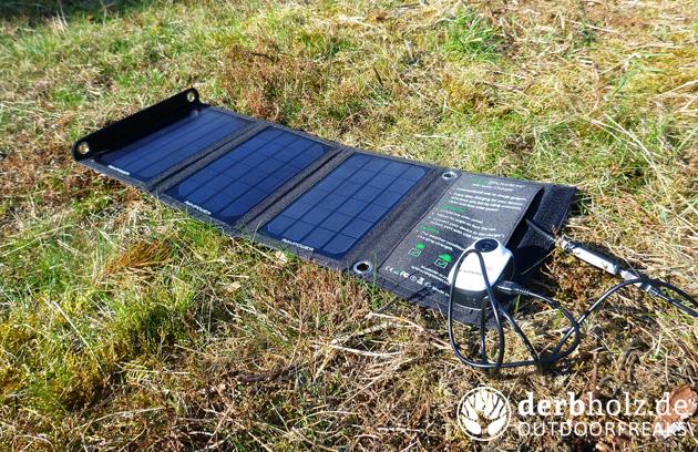 Sektor 92 Frühlingserwachen Solar Ladegerät