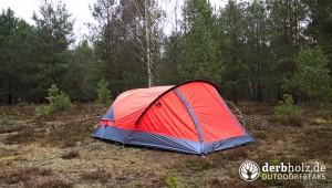 Zweimann Zelt im Wald
