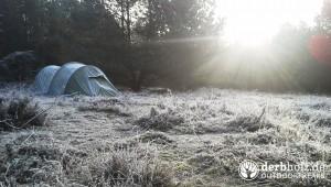 Zweimann Zelt mit Frost