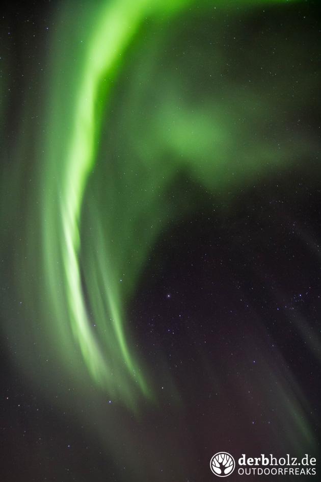 derbholz norwegen polarlichter streifen