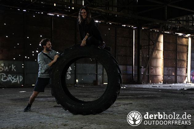 Derbholz Crew Marcin und RaRa