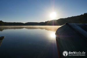 Morgennebel auf dem grossen Zermittensee