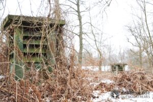 Derbholz MUNA Bunker Wolfsruh Bunker Belüftung