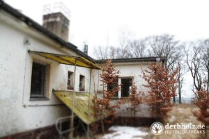 Derbholz MUNA Bunker Wolfsruh Heizgebäude