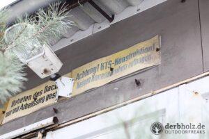 Derbholz MUNA Bunker Wolfsruh KTS Konstruktion