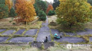 Derbholz Produkttest Wildling Flughund Familienausflug ins Grüne
