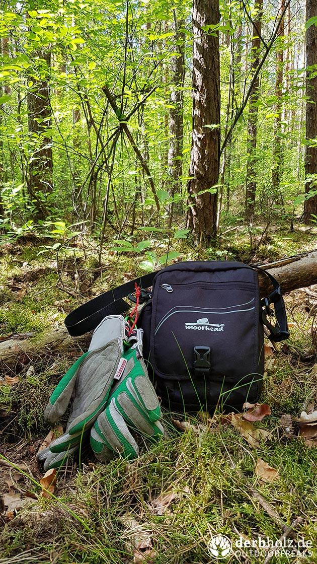 Moorhead Herrenhandtasche im Wald