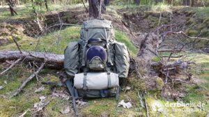 Derbholz Solo Camping Rucksack